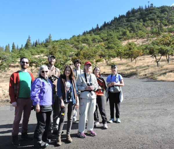 Field trip participants