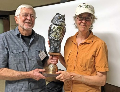 New Birdathon trophy awarded for 2018