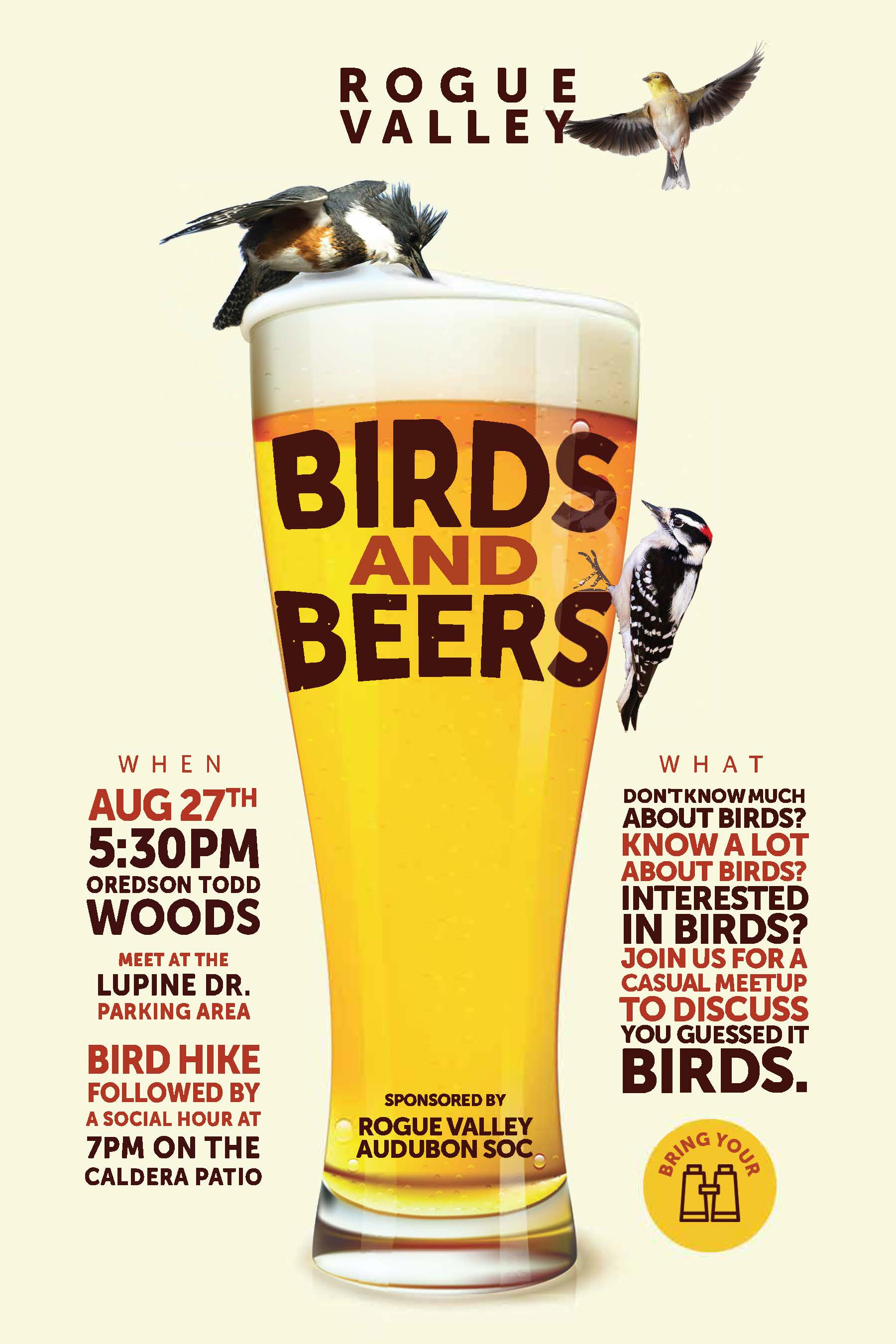 August Birds and Beers