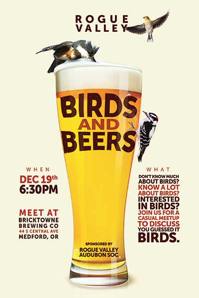 December Birds and Beers